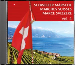 """CD Nr. 4 aus der Serie """"Schweizer Märsche"""""""